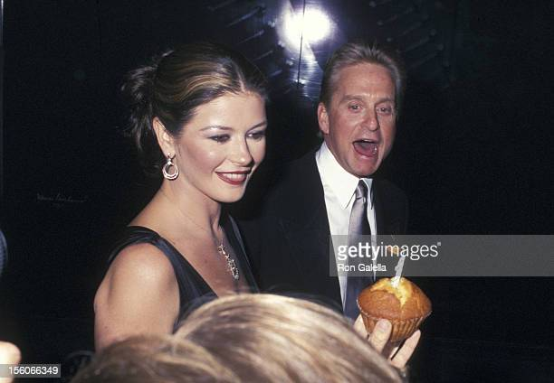 Catherine Zeta Jones and Michael Douglas during 'Magical Birthday Bash' to Benefit The Christopher Reeve Paralysis Foundation at Marriott Marquis in...
