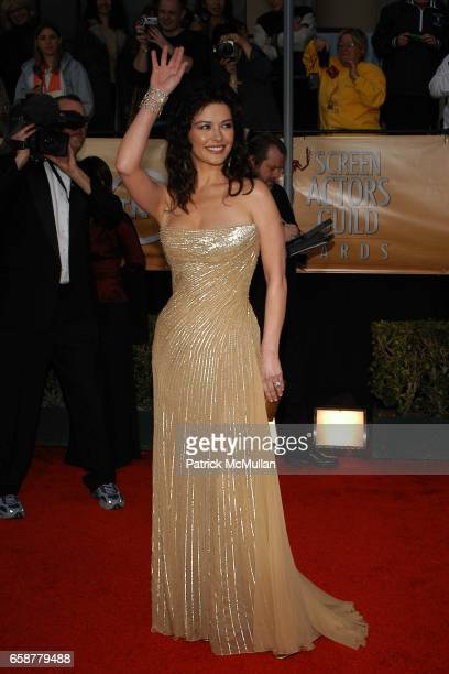 Catherine Zeta Jones attends The 10th Annual Screen Actors Guild honors outstanding film and television performances at the Shrine Auditorium on...