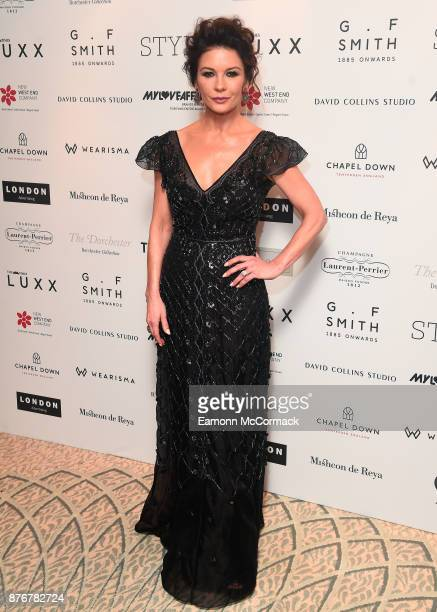 Catherine Zeta Jones attends the Walpole British Luxury Awards 2017 at Dorchester Hotel on November 20 2017 in London England
