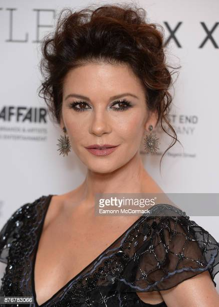 Catherine Zeta Jones attends the Walpole British Luxury Awards 2017 at Dorchester Hotel on November 20 2017 in London England