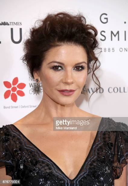 Catherine Zeta Jones attends the Walpole British Luxury Awards on November 20 2017 in London England