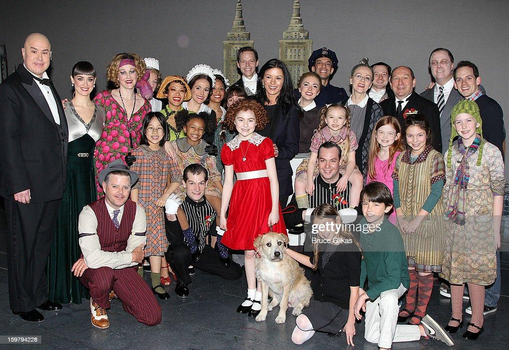 Celebrities Visit Broadway - January 20, 2013