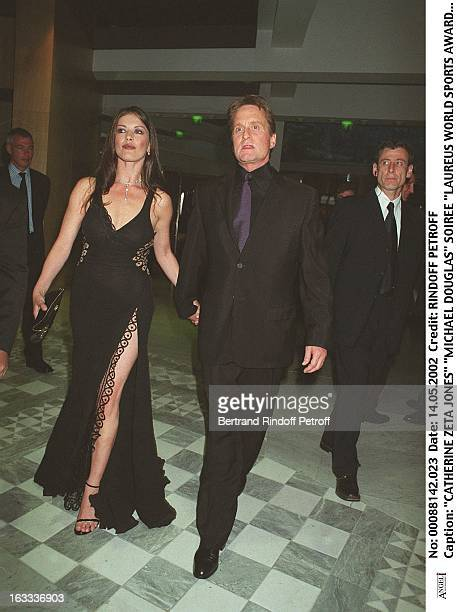 Catherine Zeta Jones 'Michael Douglas' 'Laureus World Sports Awards' party in Monaco