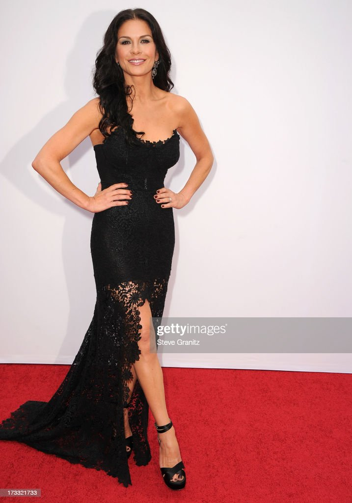Catherine Zeta-Jones arrives at the 'RED 2' - Los Angeles Premiere at Westwood Village on July 11, 2013 in Los Angeles, California.