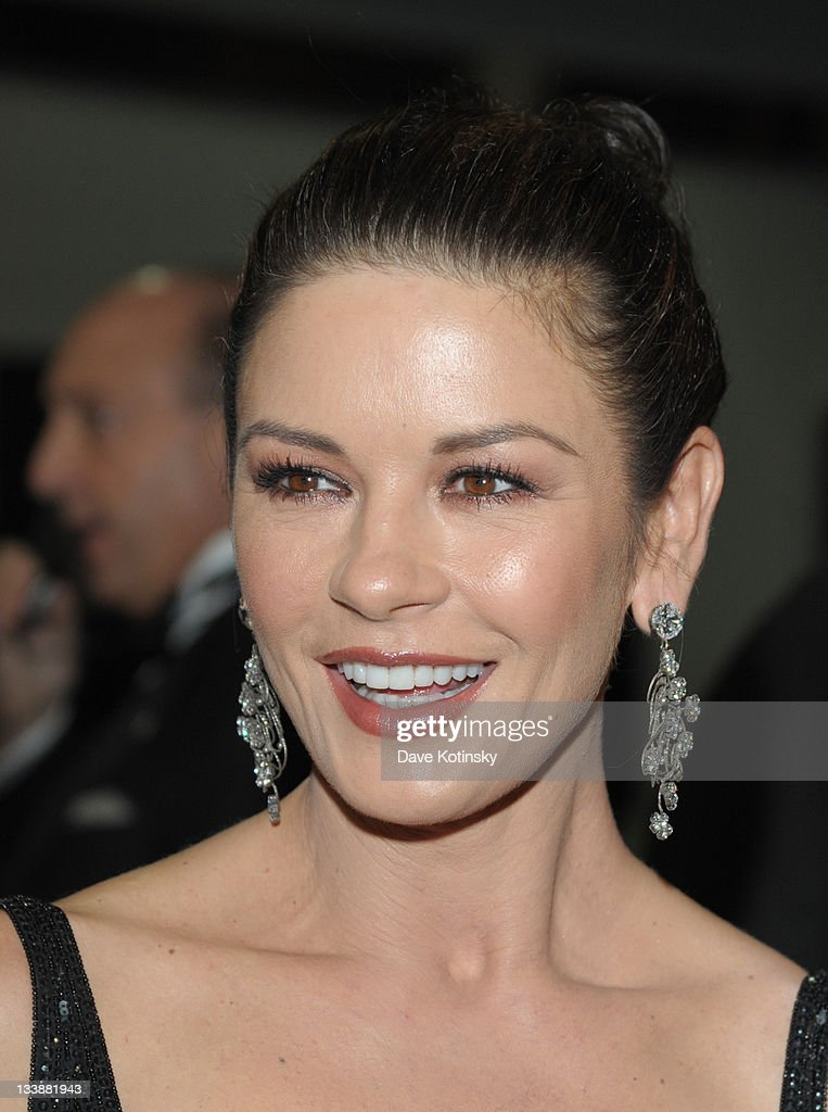 Catherine Zeta-Jones attends the 2011 Children of Chernobyl's Children at Heart gala at the Chelsea Piers on November 21, 2011 in New York City.