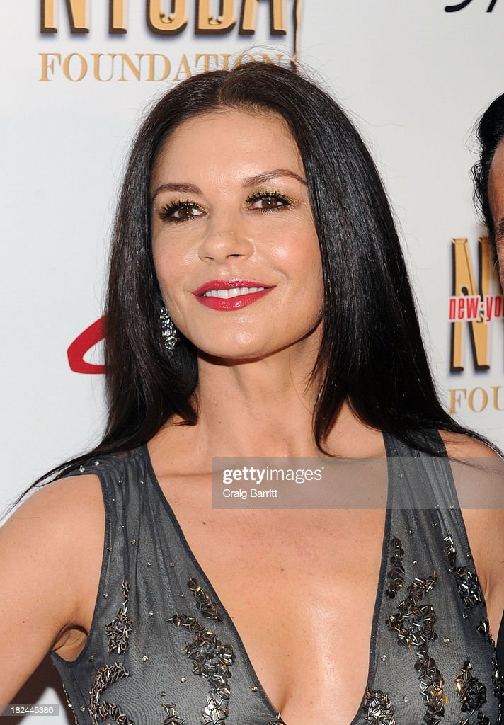 Catherine Zeta-Jones attends the 2013 NYC Dance Alliance Foundation Gala at the NYU Skirball Center on September 29, 2013 in New York City.