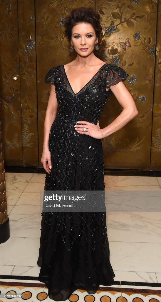 Catherine Zeta-Jones attends the Walpole British Luxury Awards 2017 hosted by Catherine Zeta Jones at The Dorchester Hotel on November 20, 2017 in London, England.