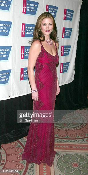 Catherine ZetaJones during American Cancer Society's 2002 Dreamball at The Waldorf Astoria in New York City New York United States
