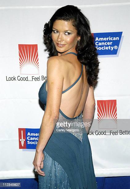 Catherine ZetaJones during The American Cancer Society and Cosmetic Industry's 21st Annual DreamBall Benefiting Look Good Feel Better at Waldorf...