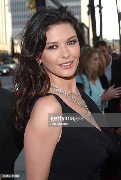 Catherine ZetaJones during 'The Terminal' World Premiere Red Carpet at Academy of Motion Picture Arts and Science in Beverly Hills California United...