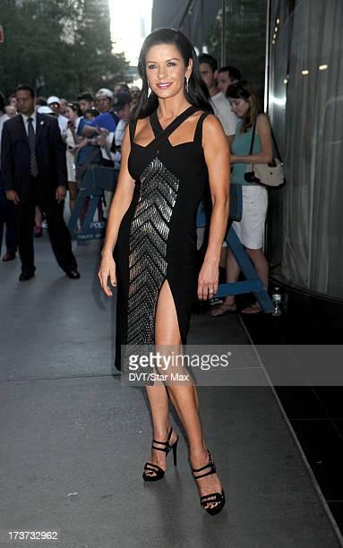 Catherine ZetaJones is sighted on July 16 2013 in New York City