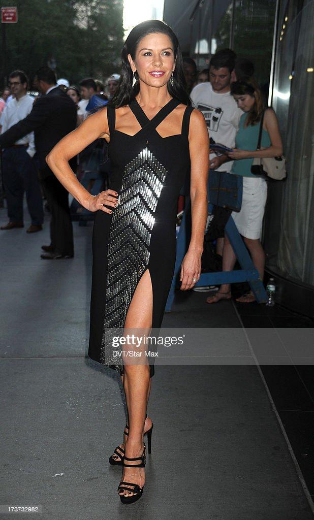 Catherine Zeta-Jones is sighted on July 16, 2013 in New York City.