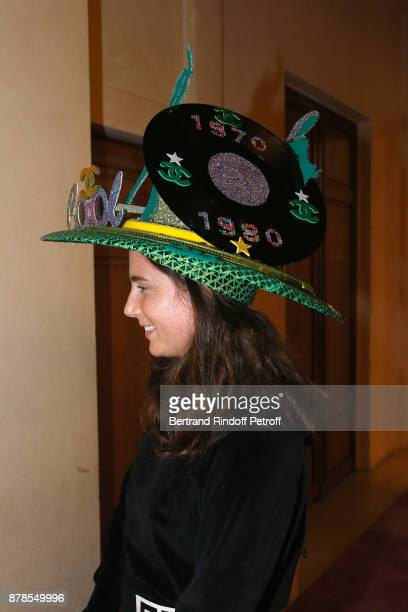 Catherinette of Chanel attends the 'Comite Montaigne' Celebrates SainteCatherine with Maisons de Couture of Avenue Montaigne On this occasion a Jury...