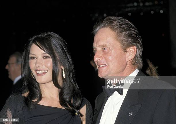 CatherineZeta Jones and Michael Douglas during United Nations Ambassadors Dinner at Sheraton Hotel in New York City New York United States
