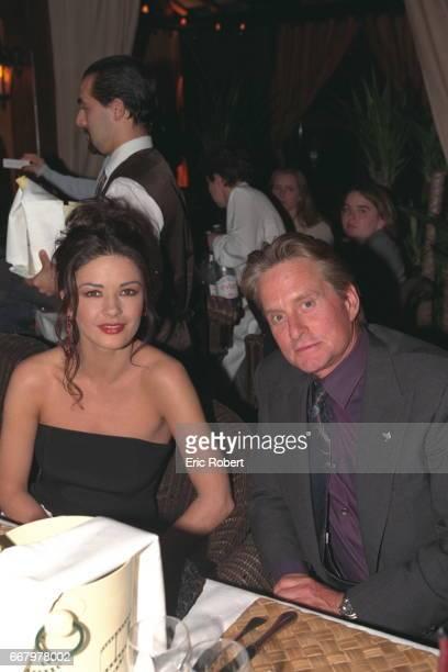 CatherineZetaJones and Michael Douglas at the dinner