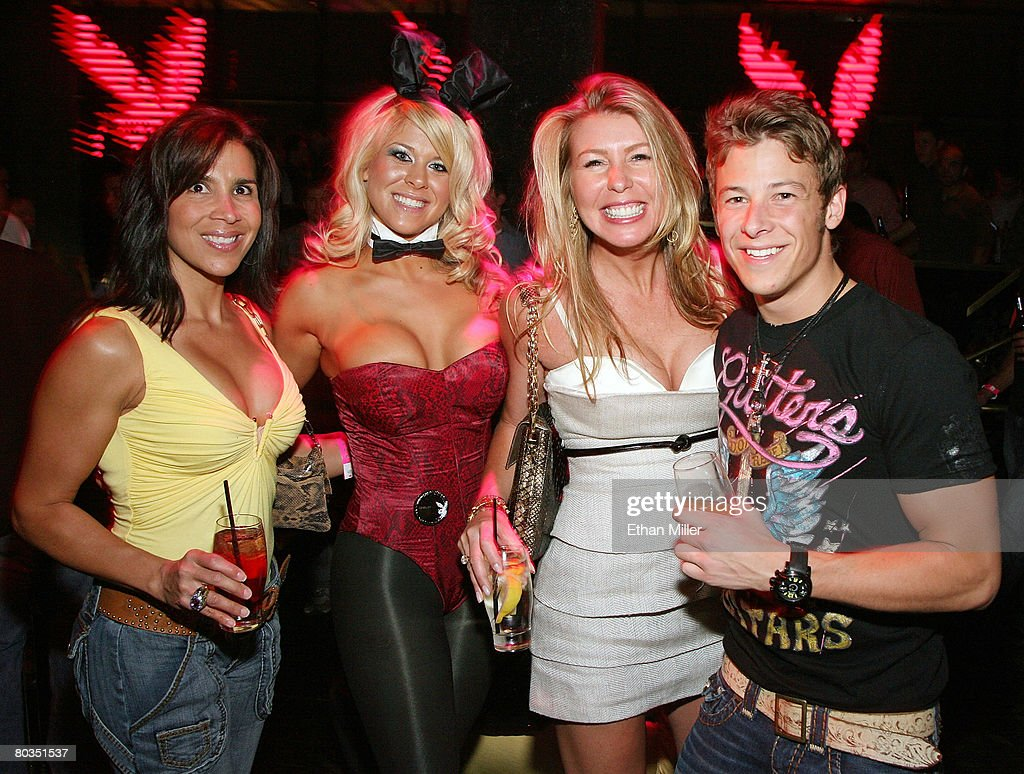 marco andretti s st birthday weekend day photos and images cathie fedele playboy bunny cocktail server chelsy skaw angela stulley and irl driver marco