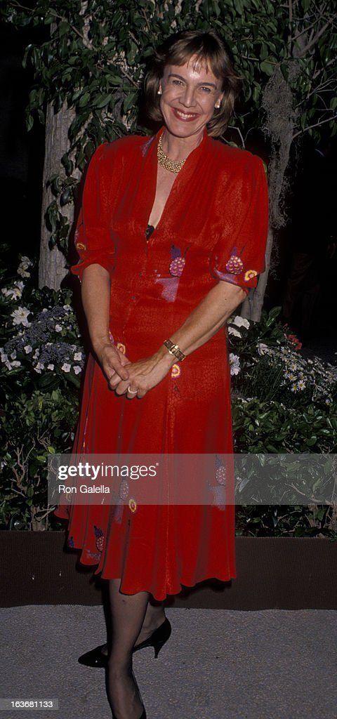Cathrine Coulson attends ABC TV Fall Press Tour on June 12, 1990 at the Century Plaza Hotel in Century City, California.