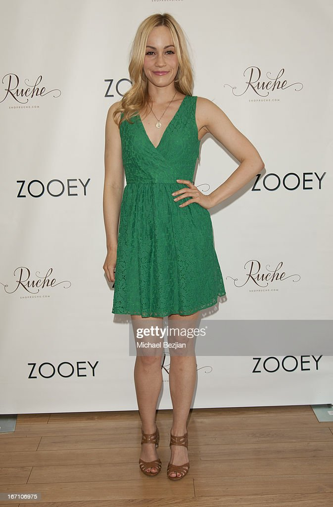 Cathy Baron attends Zooey Magazine And A Beautiful Mess Present...Crafts & Cocktails Launch Party at Seychelles Shoes' Showroom on April 20, 2013 in El Segundo, California.