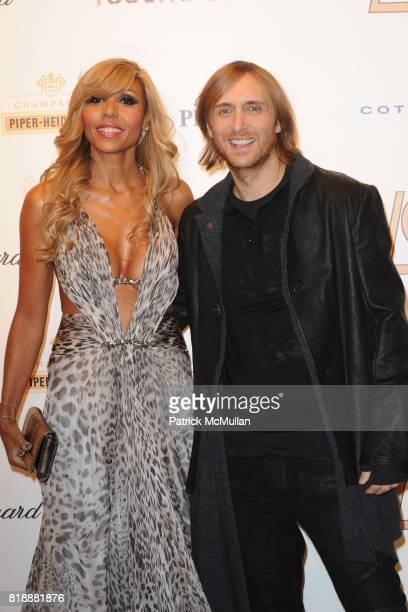 Cathy Guetta and David Guetta attend ROBERTO CAVALLI 40th Anniversary Event CONTACT SIPA PRESS FOR SALES at Les BeauxArts de Paris on September 29...