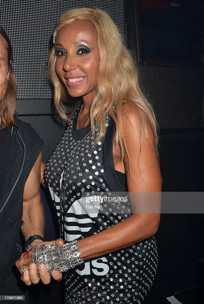 Cathy Guetta attends the David Guetta Party at The Gotha Club on August 3, 2013 in Saint Tropez, France.