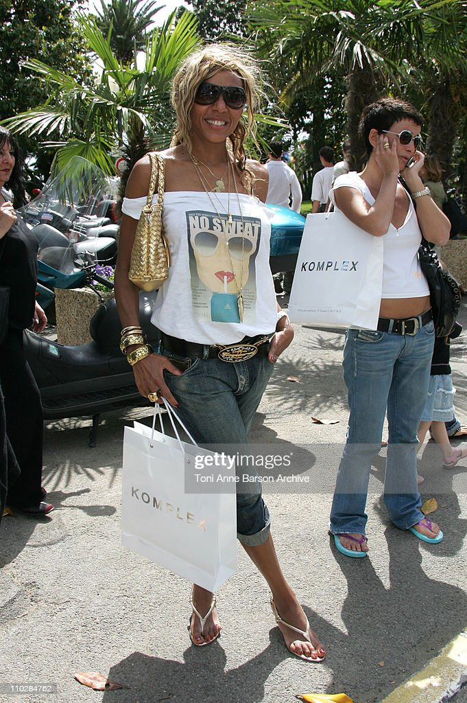 Cathy Guetta during 2006 Cannes Film Festival Seen Around Cannes Day 6 at Varoius in Cannes France
