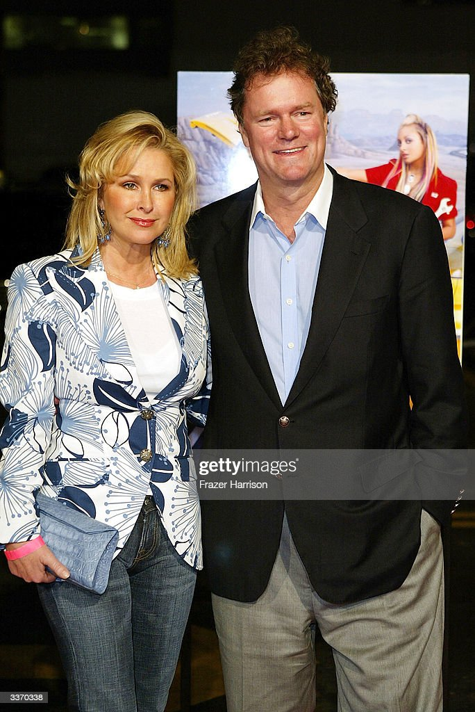 Cathy Hilton and Rick Hilton aririve for the 'Simple Life 2' Welcome Home Party at The Spider Club on April 14, 2004 in Hollywood, California.