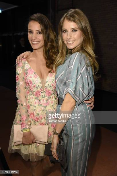 Cathy Hummels and Nadine Menz attend the About You Awards on May 4 2017 in Hamburg Germany