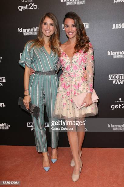Cathy Hummels and Nadine Menz during the ABOUT YOU AWARDS at the 'Mehr Theater' in Hamburg on May 4 2017 in Hamburg Germany