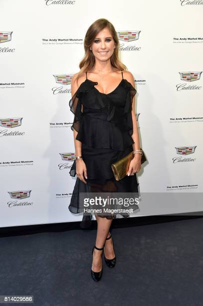 Cathy Hummels attends the Cadillac House Opening at Deutsches Museum on July 13 2017 in Munich Germany