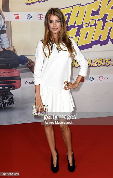 Cathy Hummels attends the 'Fack ju Goehte 2' Munich Premiere at Mathaeser Filmpalast on September 7 2015 in Munich Germany