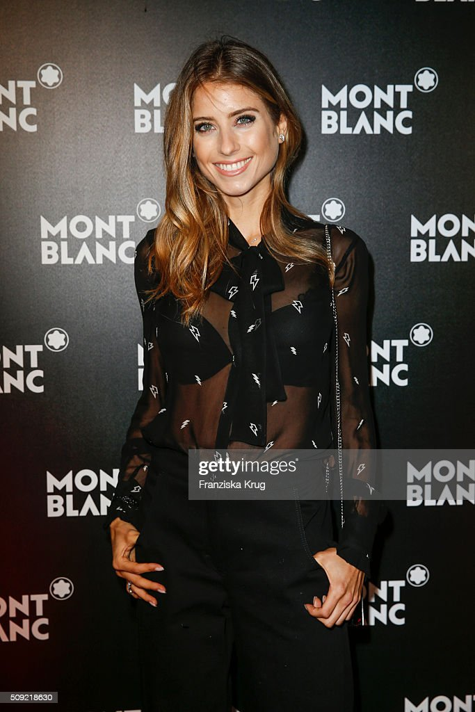 <a gi-track='captionPersonalityLinkClicked' href=/galleries/search?phrase=Cathy+Hummels&family=editorial&specificpeople=8685062 ng-click='$event.stopPropagation()'>Cathy Hummels</a> attends the Montblanc House Opening on February 09, 2016 in Hamburg, Germany.