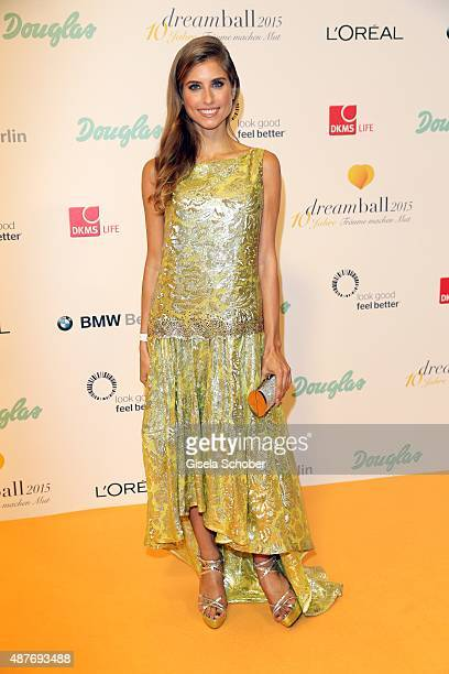 Cathy Hummels during the 10th anniversary of 'Dreamball' at Ritz Carlton on September 10 2015 in Berlin Germany