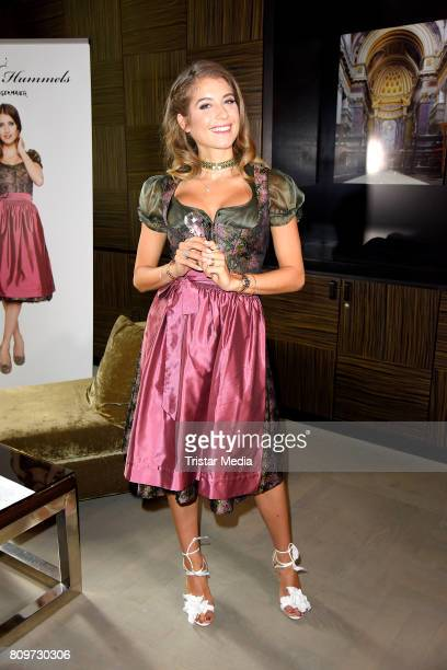 Cathy Hummels Hosts Angermaier Event on July 6 2017 in Berlin Germany