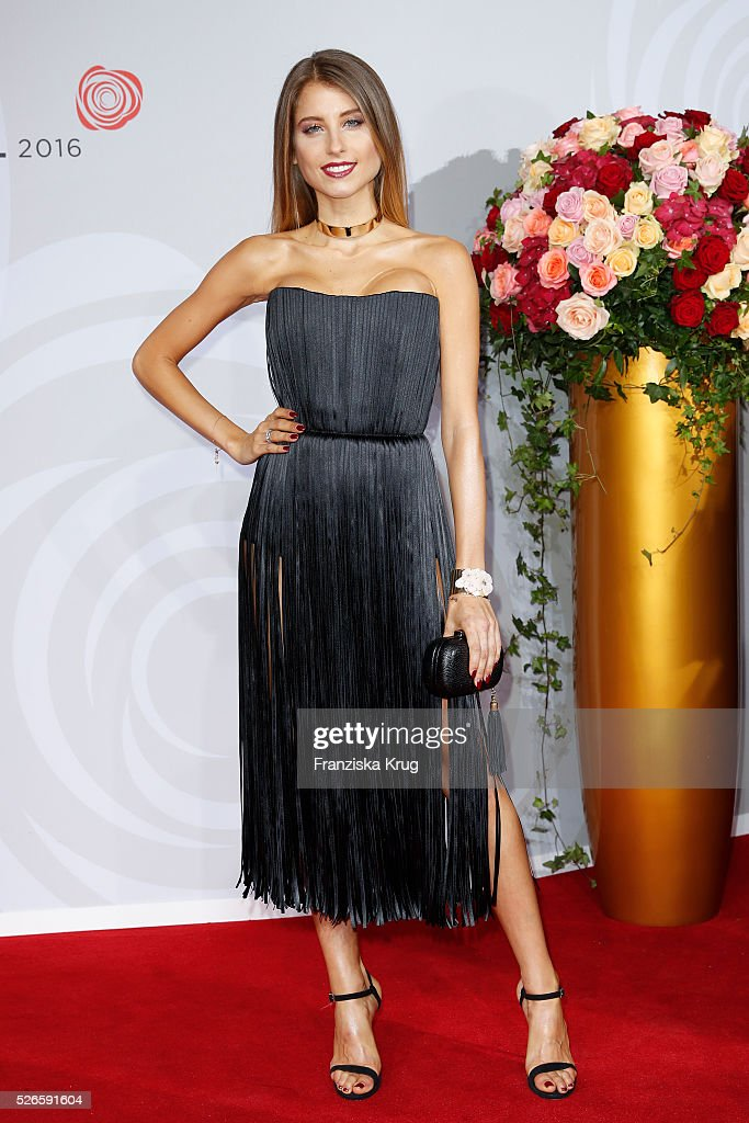 <a gi-track='captionPersonalityLinkClicked' href=/galleries/search?phrase=Cathy+Hummels&family=editorial&specificpeople=8685062 ng-click='$event.stopPropagation()'>Cathy Hummels</a> attends the Rosenball 2016 on April 30 in Berlin, Germany.