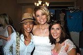 Cathy Jeneen Doe McKenzie Westmore and Rachel Campos