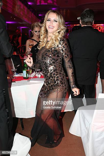 Cathy Lugner former wife of Richard Lugner during the 44th German Film Ball 2017 party at Hotel Bayerischer Hof on January 21 2017 in Munich Germany