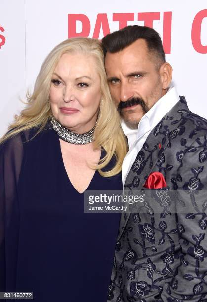 Cathy Moriarty and Wass Stevens attend the 'Patti Cake$' New York Premiere at The Metrograph on August 14 2017 in New York City