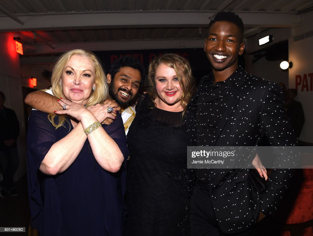 Cathy Moriarty, Mamoudou Athie, Danielle Macdonald and Bridget Everett attend 'Patti Cake$' New York After Party at The Metrograph on August 14, 2017 in New York City.