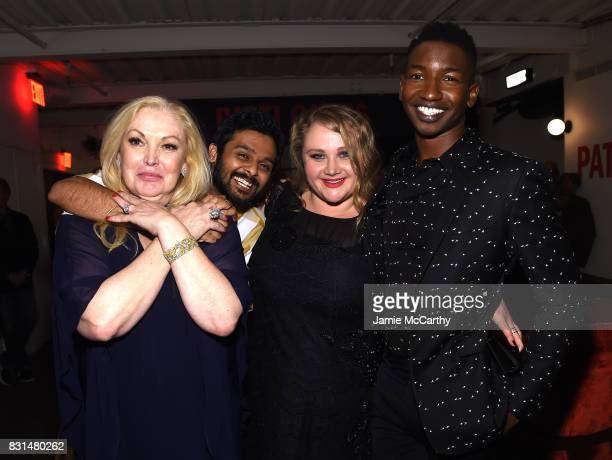 Cathy Moriarty Mamoudou Athie Danielle Macdonald and Bridget Everett attend 'Patti Cake$' New York After Party at The Metrograph on August 14 2017 in...
