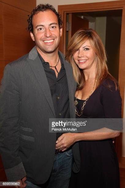 Cathy Quinn and Michael May attend Lanyard Grandelli Launch of Prudential Douglas Eilliman at The RitzCarlton on October 8 2009 in New York City