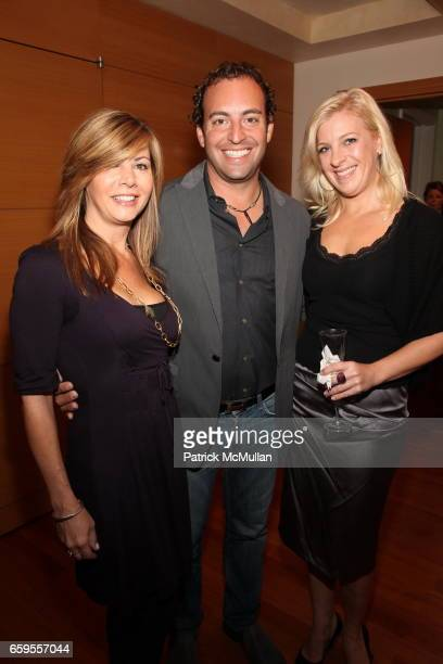 Cathy Quinn Michael May and Suzanne Gibson attend Lanyard Grandelli Launch of Prudential Douglas Eilliman at The RitzCarlton on October 8 2009 in New...