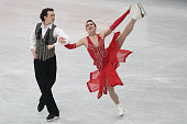 Cathy Reed and Chris Reed of Japan compete in the Ice Dance Short Dance during ISU World Figure Skating Championships at Saitama Super Arena on March...