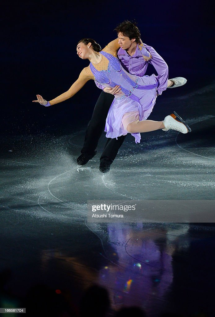 <a gi-track='captionPersonalityLinkClicked' href=/galleries/search?phrase=Cathy+Reed&family=editorial&specificpeople=4142356 ng-click='$event.stopPropagation()'>Cathy Reed</a> and Chris Reed of Japan perform during day four of the ISU World Team Trophy at Yoyogi National Gymnasium on April 14, 2013 in Tokyo, Japan.