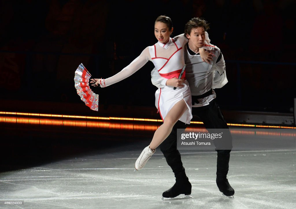 <a gi-track='captionPersonalityLinkClicked' href=/galleries/search?phrase=Cathy+Reed&family=editorial&specificpeople=4142356 ng-click='$event.stopPropagation()'>Cathy Reed</a> and Chris Reed of Japan perform their routine in the Gala exhibition during All Japan Figure Skating Championships at Saitama Super Arena on December 24, 2013 in Saitama, Japan.