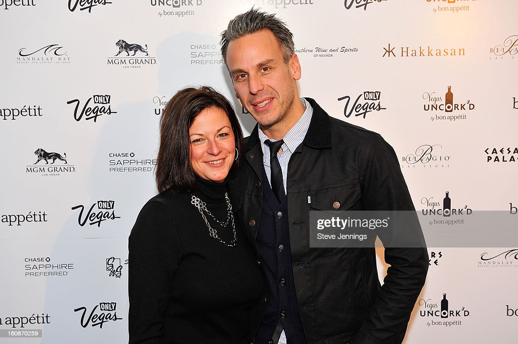 Cathy Tull and Adam Rapoport (L-R) attend the Exclusive Preview of the 2013 Vegas Uncork'd By Bon Appetit at One Kearny Street on February 6, 2013 in San Francisco, California.