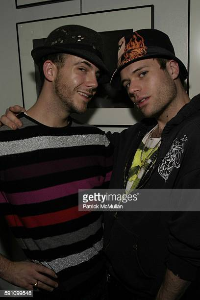 Cator Sparks and Charlie Brown attend Edie Sedgwick Unseen Photographs of a Warhol Superstar Opening Reception Hosted by Misha Sedgwick at...