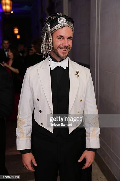 Cator Sparks attends the Young Fellows Celestial Ball presented by PAULE KA at The Frick Collection on March 13 2014 in New York City
