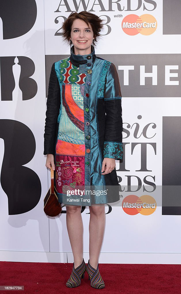 Catrin Finch attends the Classic BRIT Awards 2013 at Royal Albert Hall on October 2, 2013 in London, England.