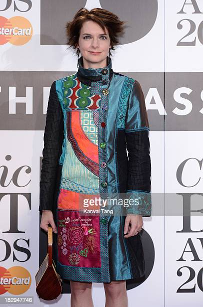 Catrin Finch attends the Classic BRIT Awards 2013 at Royal Albert Hall on October 2 2013 in London England