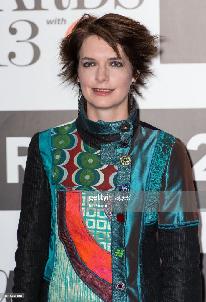 Catrin Finch attends the Classic BRIT Awards 2013 at the Royal Albert Hall on October 2, 2013 in London, England.